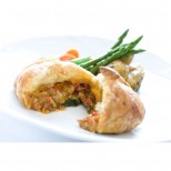 Roasted Red Peppers En Croute