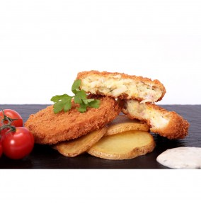 Smoked Cod Bacon and Brie Fishcakes